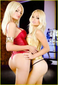 Jesse Jane & Riley Steele - Mothers & Daughters (2012) DVDRip-AVC