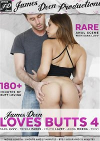 James Deen Любит Задницы 4 / James Deen Loves Butts 4 (2015) DVDRip