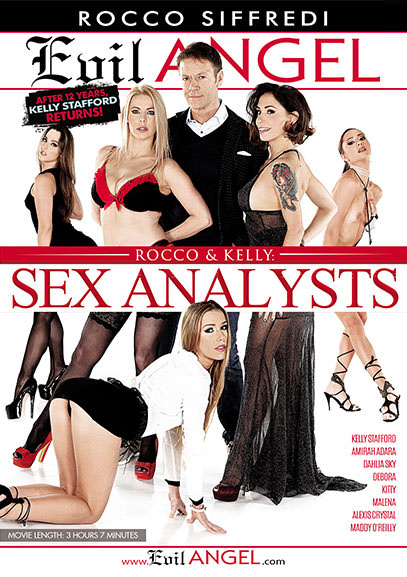 Рокко и Келли: Секс Аналитики / Rocco and Kelly: Sex Analysts (2017) DVDRip